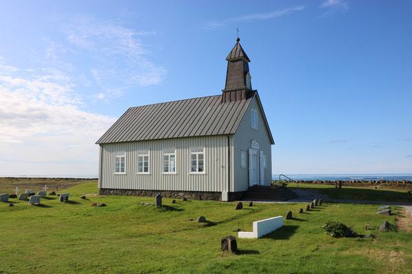 Eglise de Strandakirkja dans la péninsule de Reykjanes en Islande