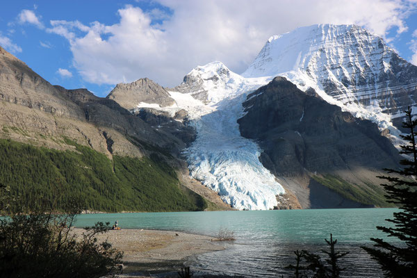 Berg Lake, Berg Lake Trail, Parc Provincial du Mont Robson