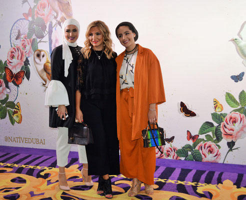 Fashion and Lifestyle Influencer: Dala AlDoub, Lina Samman, Ascia AKF