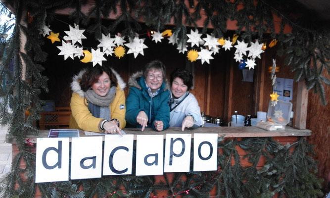 daCapo auf dem Weihnachtsmarkt