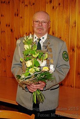 Schützenkönig 2015: Wilfried Rienecker