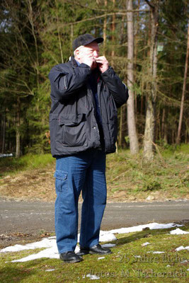 Dieter Müller brachte ein Ständchen
