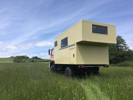 nomadcampers Magirus Deutz 160M8FAL 4x4 Expeditionsmobil