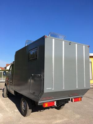 nomadcampers Mercedes Benz Sprinter Iglhaut 4x4 Expeditionsmobil