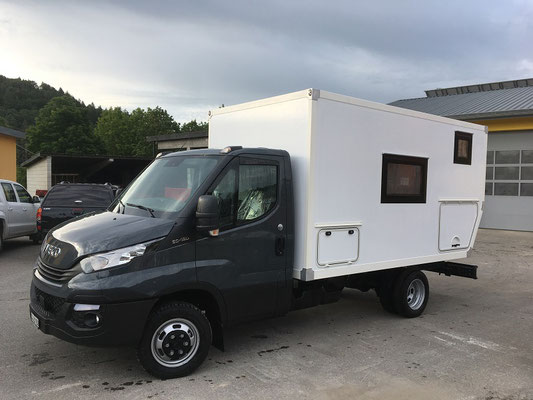 nomadcampers Expeditionsmobil Iveco Daily 50C18