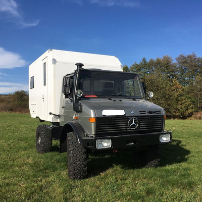 nomadcampers Expeditionsmobil Unimog