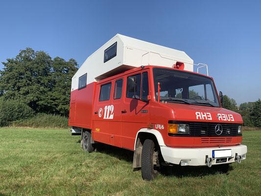 nomadcampers Mercedes 814-D Reisemobil