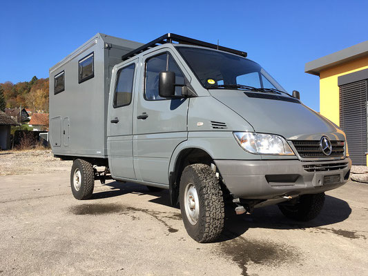 nomadcampers Mercedes Benz Sprinter Iglhaut 4x4 Expeditionsmobil
