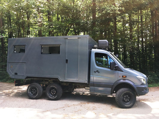 nomadcampers Mercedes Benz Sprinter Oberaigner 6x6 Expeditionsmobil
