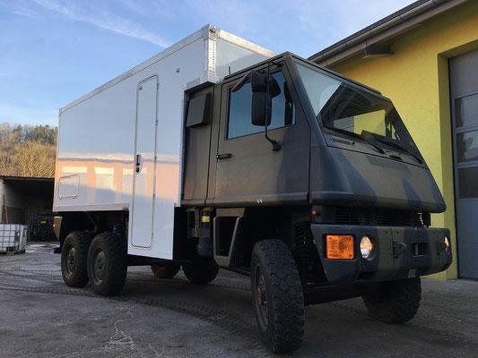 Bucher Duro 6x6 Expeditionsmobil
