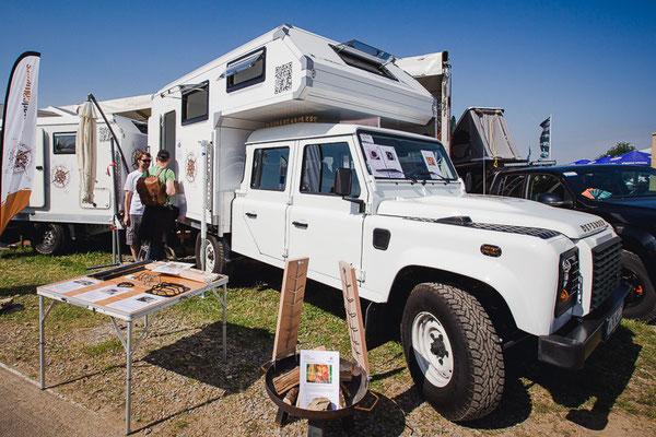 nomdadcampers Leerkabine Land Rover Defender 130