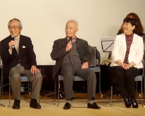 古谷敏さんのワンマンショーにて【2015年】寫眞提供:ヤマダ・マサミ 様