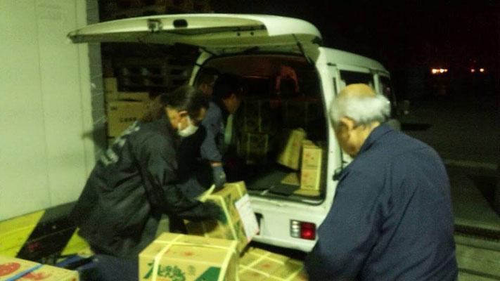 食品 農産物 当日配送 堺 大阪 軽貨物