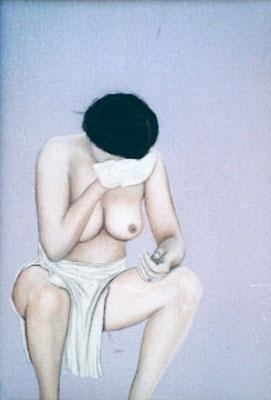 Vrouw met washandje - Alle Jager