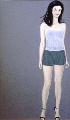 Meisje met korte broek - Alle Jager
