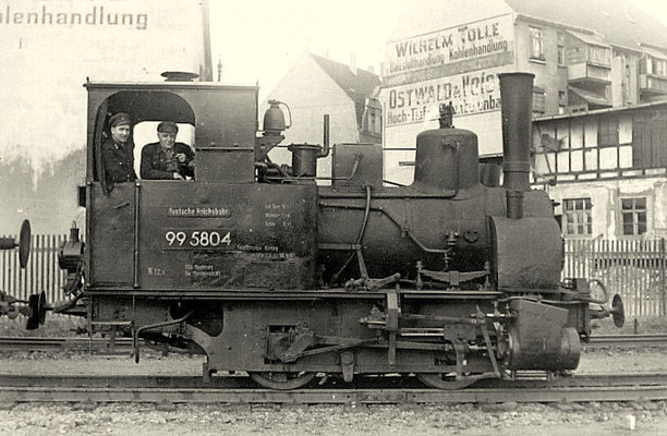 Wernigerode 1958; Lok 99 5804