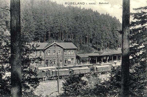Alter Bahnhof Rübeland um 1920