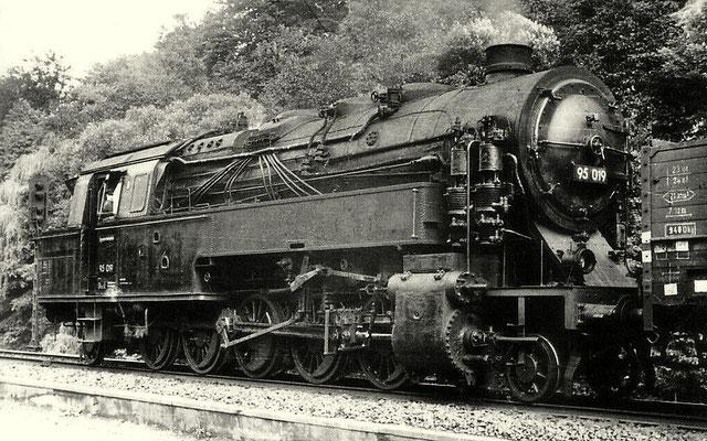 Lok 95 019 1955 in Rübeland