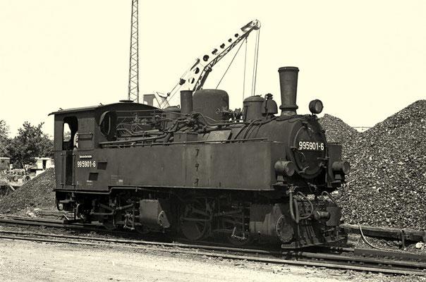 Gernrode 1975: Lok 99 5901