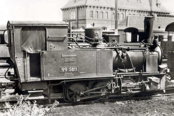 Gernrode 1955: Lok 99 5811