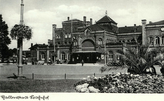 Bahnhof Halberstadt um 1930