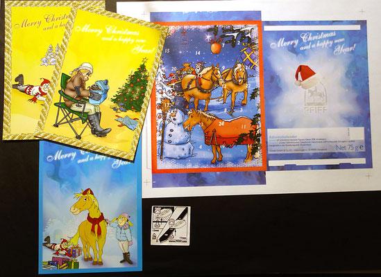 Adventskalender | Postkarten | Gebrauchsanleitung | Großhandel | PFIFF