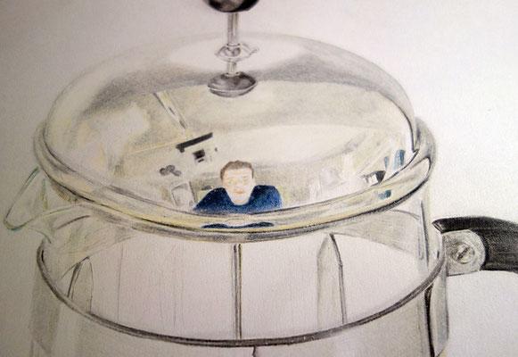 Buntstiftzeichnung | Studie | Photorealismus