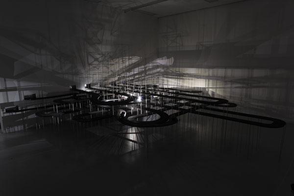 Bildmaschine 07, Exhibition View, Tyrolean State Museum Ferdinandeum, Innsbruck 2015  Foto: Moritz Friedel