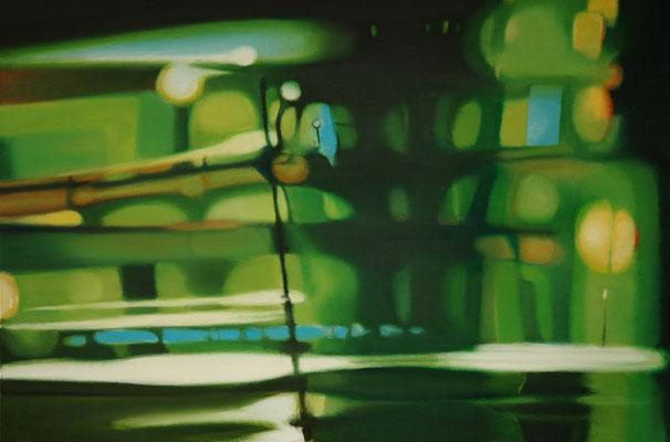 Bildmaschine 01/6, 2006, Oil on canvas