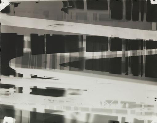 Bildmaschine 07, SW #11, 2015, photogram, 60 x 78 cm