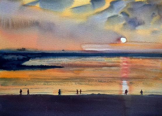 Borkum - Sonnenuntergang