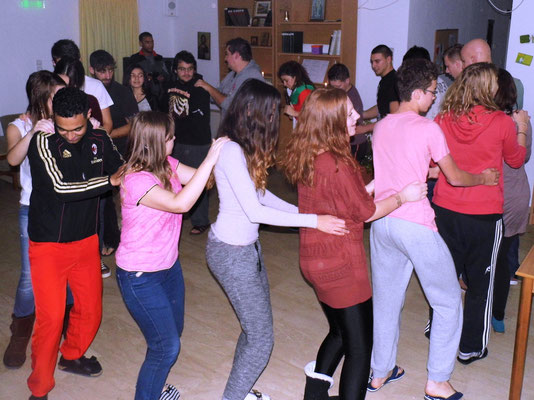 Traditional Bulgarian dance/game