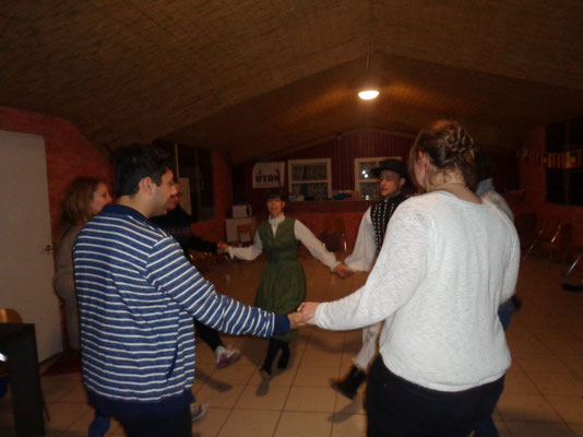 Learning traditional Hungarian dances