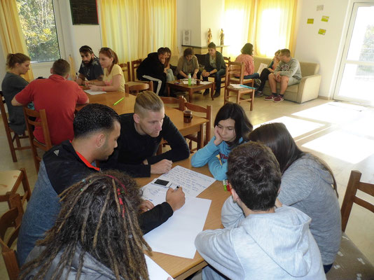 Group work on anti-discrimination