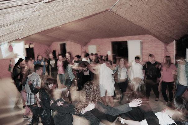 Greek traditional dances at Greek night