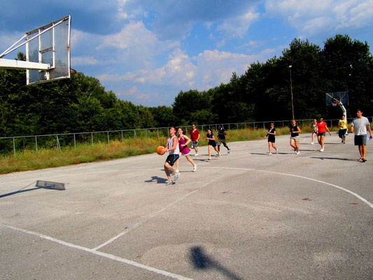 Competition of basketball