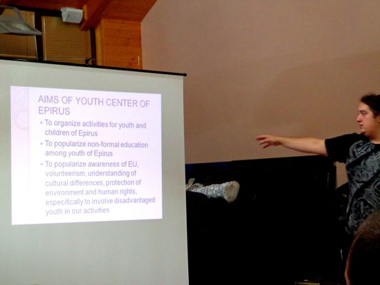 Presentation of Youth Center of Epirus