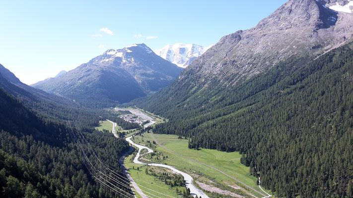 Blick ins Val Bernina