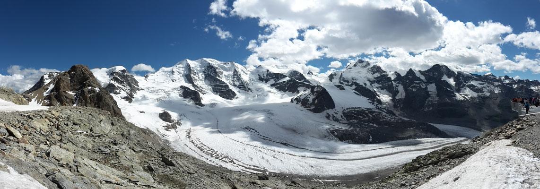 Panorama auf dem Diavolezza