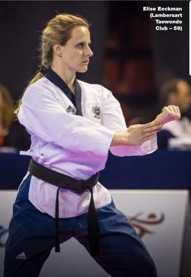 Elise EECKMAN, préparation mentale