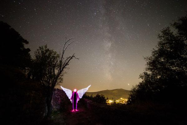 Angel & Milky way