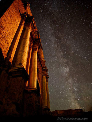 The Church & Milky Way, Spain