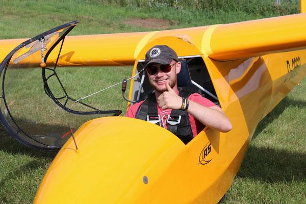 Auch unsere Flugschüler waren dieses Wochenende aktiv.