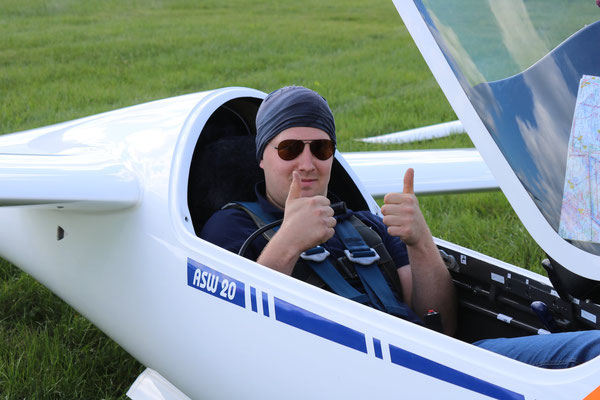 """Jens ist """"ready for take off""""!"""