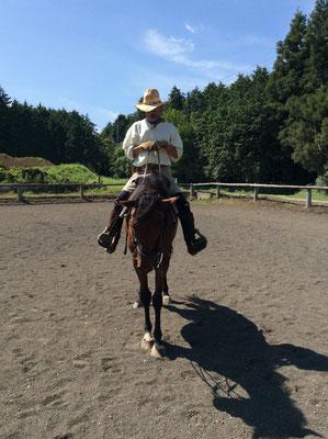 楽しい余暇。癒しの乗馬かな。sioux&lily(スーアンドリリー)