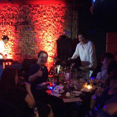 六本木キーストンクラブで宮崎友紀子さんのライブ。。盛り上がりました。