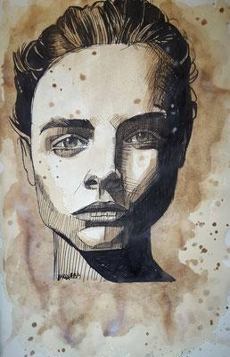 Cara Delevingne / Kaffeeoptik
