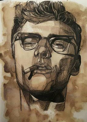 James Dean / Kaffeeoptik