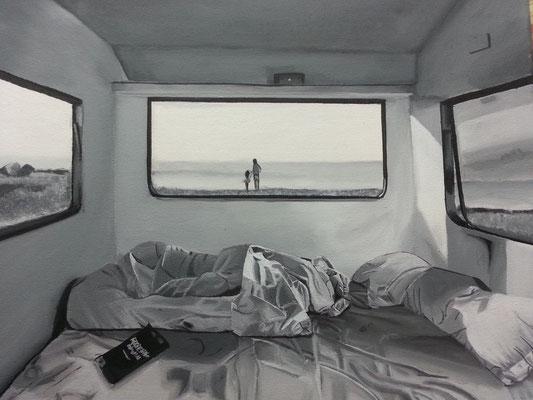 Camper / Arcyl auf Leinwand