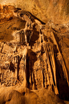Stalactite grotte de Trabuc